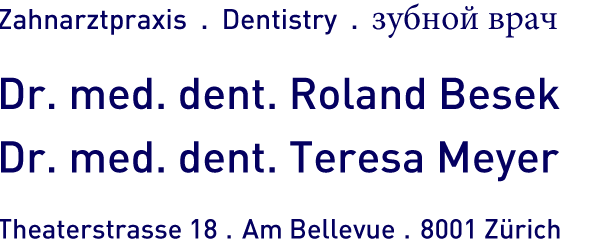 Lakedent Zürich | Zahnarzt Dr. Roland Besek & Dr. Teresa Meyer